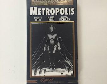 Fritz Lang's METROPOLIS 1927 - Alfred Abel - Gustav Froelich - Brigitte Helm VHS
