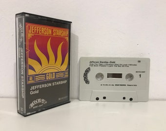 JEFFERSON STARSHIP: Gold (1979) Cassette Tape