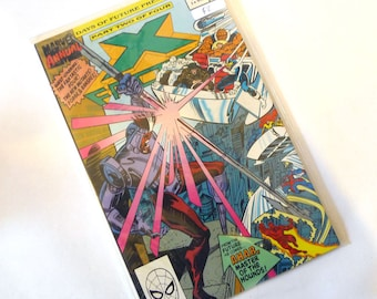X FACTOR # 5 Annual 1990 Days Of Future Present: Feat. Fantastic Four, New Mutants, Forge & Banshee