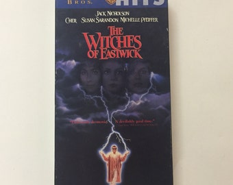 The Witches of Eastwick (VHS) Jack Nicholson, Cher, Susan Sarandon, George Miller