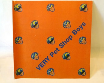 PET SHOP BOYS - Very - Album Release Promo Poster