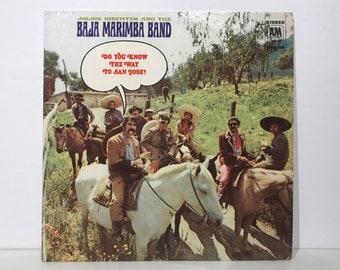 """Julius Wechter & The Baja Marimba Band: Do You Know The Way To San Jose? – Vintage Vinyl LP Record 12"""" (1968)"""
