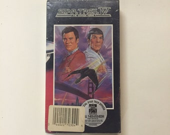 Star Trek IV - The Voyage Home [VHS] Sealed! William Shatner, Leonard Nimoy