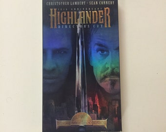 Highlander (VHS, 1996, 10th Anniversary Director's Cut)