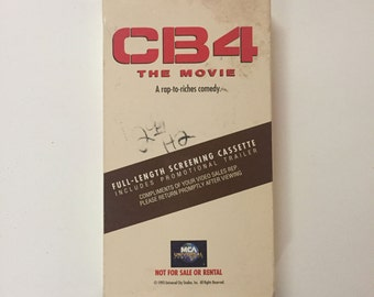 CB4 The Movie VHS Chris Rock Gangsta Rap Hip-Hop 1993 Rare Screener Copy!