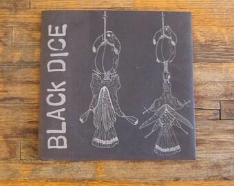 """Black Dice - Untitled (Printed Paper) 7"""" Record 45 Vinyl EP Vermin Scum 22"""