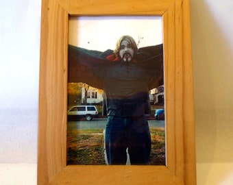 Found Art - Goth Guy 5x7 in Framed Photo