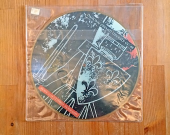 """Dancing French Liberals Of '48 – Scream Clown Scream (1994) Vintage Vinyl 10"""" Picture Disc"""