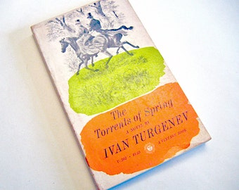 The Torrents of Spring - Ivan Turgenev Paperback, 1959
