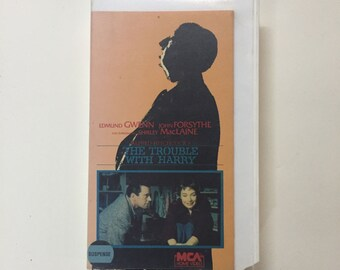 The Trouble With Harry [VHS]  Shirley MacLaine, Alfred Hitchcock