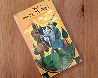 Prince Caspian: The Return to Narnia by CS Lewis (1973) Vintage Paperback