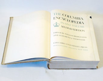 The Columbia Encyclopedia - Second Edition 1950