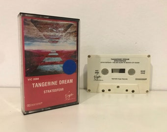 RARE Stratosfear by Tangerine Dream (1976) Cassette Tape