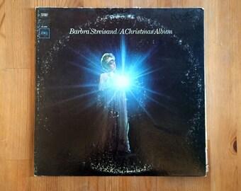 "Barbra Streisand – A Christmas Album (1967) Vintage Vinyl 12"""