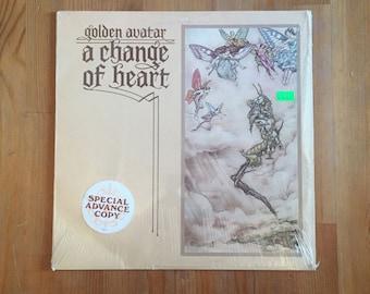 "Golden Avatar – A Change Of Heart (1976) Vintage Vinyl Sudarshan 12"""
