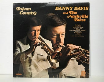 "Danny Davis & Nashville Brass ""Dream Country"" - Pickwick Records Vintage Vinyl LP 1975"
