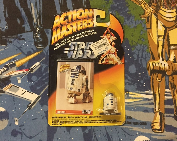 Featured listing image: Vintage STAR WARS: Action Masters • R2-D2 • Sealed 1994