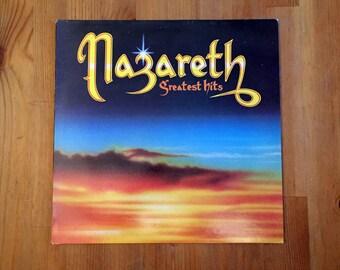 """NAZARETH: Greatest Hits (1975) Vintage Vinyl 12"""""""