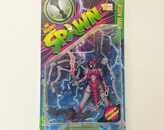 Vintage Spawn: Widow Maker - Sealed on Card 1996