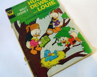 Walt Disney's Huey, Dewey and Louie Junior Woodchucks #15 (Gold Key) 1972