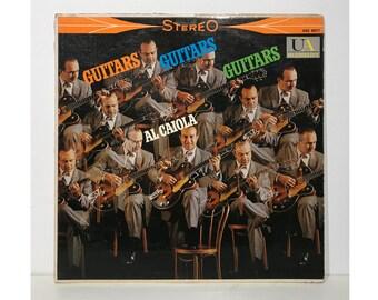 Al Ciaola: Guitars, Guitars, Guitars - (United Artists) Vintage Vinyl Record LP 1960
