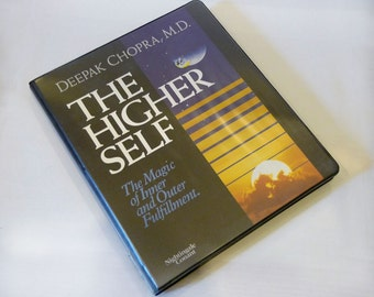 The Higher Self: The Magic of Inner and Outer Fulfillment, Book-on-Tape, 7 Audio Cassettes – 1992 by Deepak Chopra