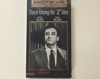 Down Among the Z Men [VHS] Peter Sellers 1952