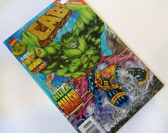 Cable #34 Original 1st Series: Onslaught Phase 1 Hulk / X-Men