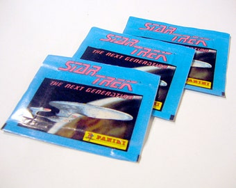 Star Trek: The Next Generation Unopened Package of Trading Cards