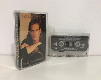 Michael Bolton - Time, Love and Tenderness  (1991) Cassette Tape