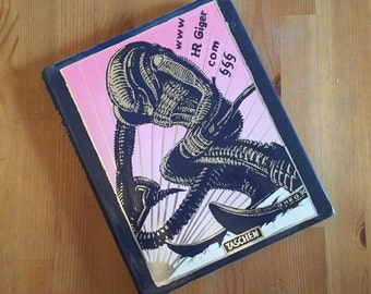 www HR Giger dot com - Hardcover 1st Edition Art Book by H.R. Giger - Taschen