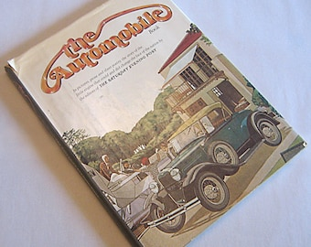The Automobile Book by Editors of the Saturday Evening Post, Hardcover – January, 1977