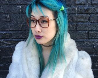 Campus Coeds Vintage 1970s Deadstock Eyeglasses Frames Womens Browns