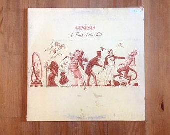 "GENESIS – A Trick Of The Tail (1976) Vintage Vinyl 12"""