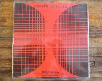 "Camera Obscura ""Writing Kodak / We Talked MIDI"" 7"" Picture Disc Vinyl Record"