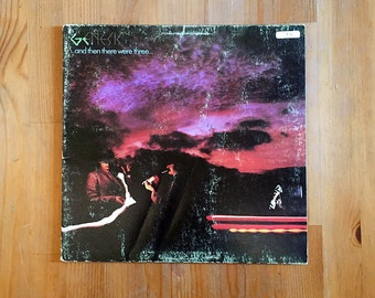 """GENESIS –  ...And Then There Were Three...  (1978) Vintage Vinyl 12"""""""