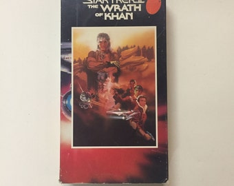 Star Trek II - The Wrath of Khan [VHS] William Shatner, Leonard Nimoy