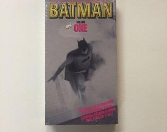 The Original Serial Adventures of Batman: Volume One VHS 1990