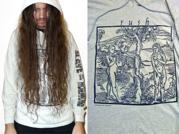 EVE JOHN Rush Album Hood New Sweater for Women Long Hoodies