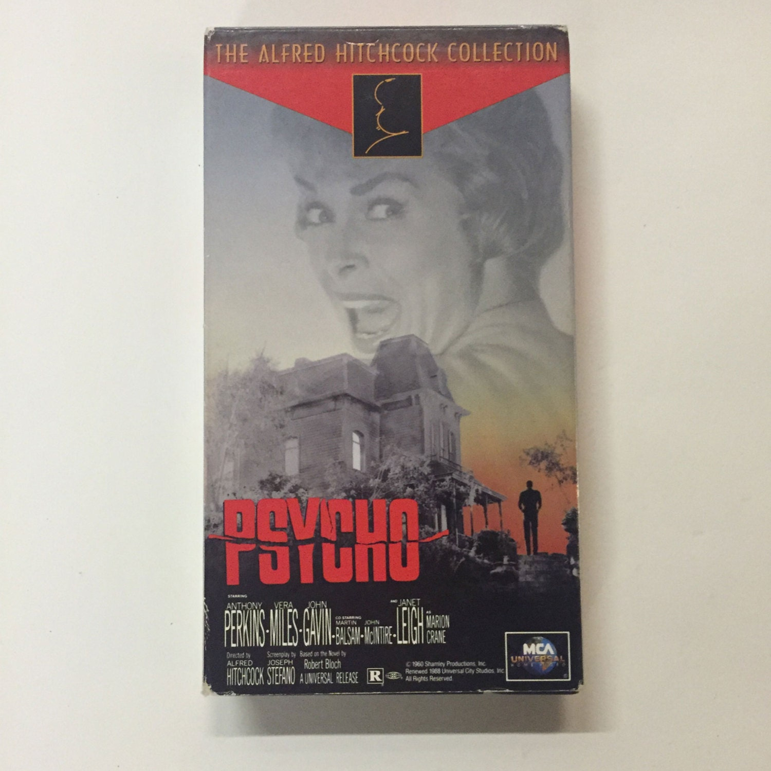 Psycho Vhs 1995 Alfred Hitchcock