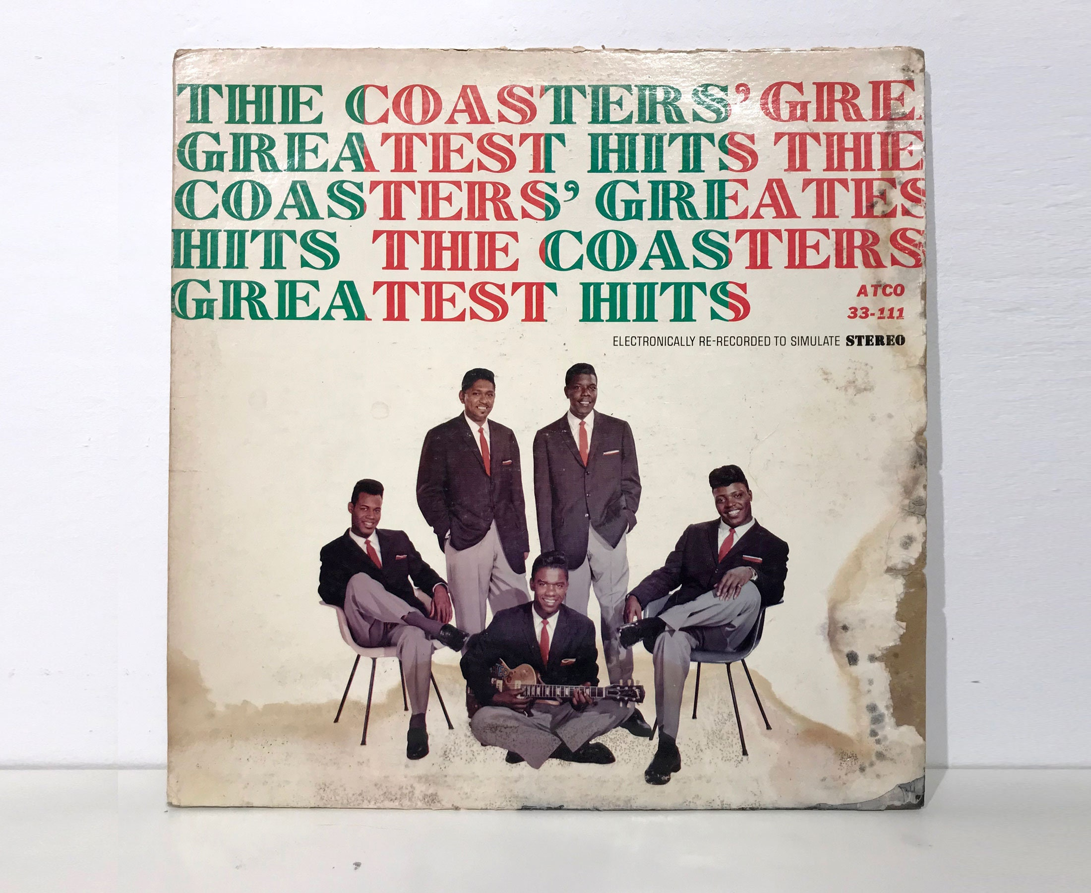 The Coasters The Coasters Greatest Hits Vintage Vinyl