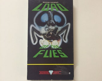 Lord of the Flies (VHS) RARE Diamond Video Released 1980