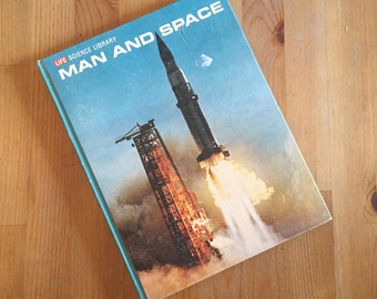 """Life Science Library """"MAN and SPACE"""" Hardcover Book , Time Inc. NY 1964 by Arther C. Clarke"""