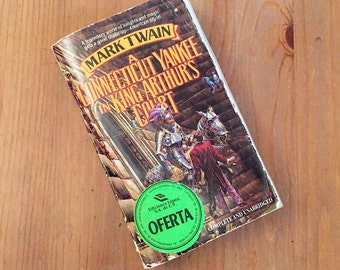 A Connecticut Yankee in King Arthur's Court by Mark Twain – Vintage Paperback
