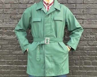 European Military Police Trench Coat - Deadstock