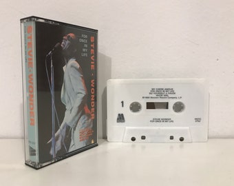 Stevie Wonder: For Once In My Life (1982) Cassette Tape