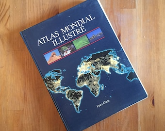 Atlas Mondial Illustre Euro-Carte