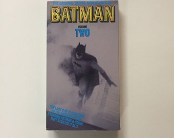 The Original Serial Adventures of Batman: Volume Two VHS 1990