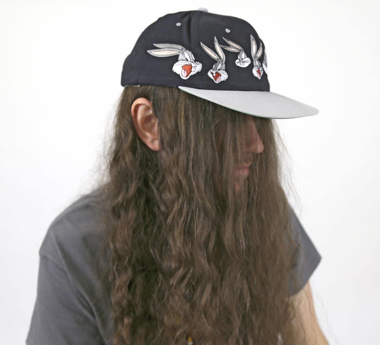 179f6c5deeac9 Vintage 1990s Looney Tunes BUGS BUNNY Snapback Ballcap Hat