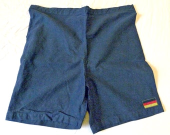 European Military Surplus German Flag Hot Pants Bunk Shorts